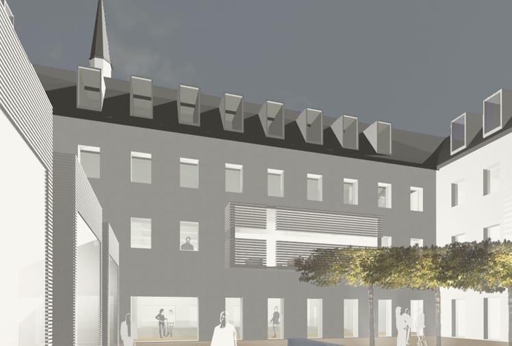 Architekten Speyer wettbewerbe architekturwerk brünjes architekten federnschmiede