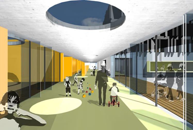 Wettbewerbe architekturwerk br njes architekten for Architekturburo saarbrucken